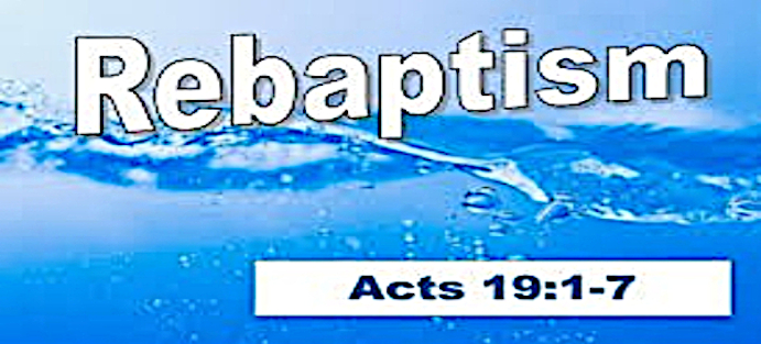 Born Again - Acts Chapter 19